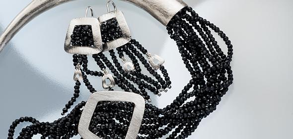 Black Spinel Belt Collection